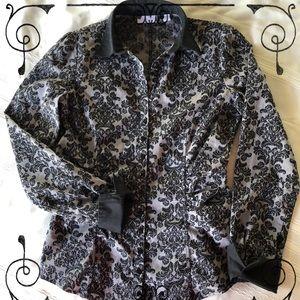 Gorgeous «tuxedo» shirt